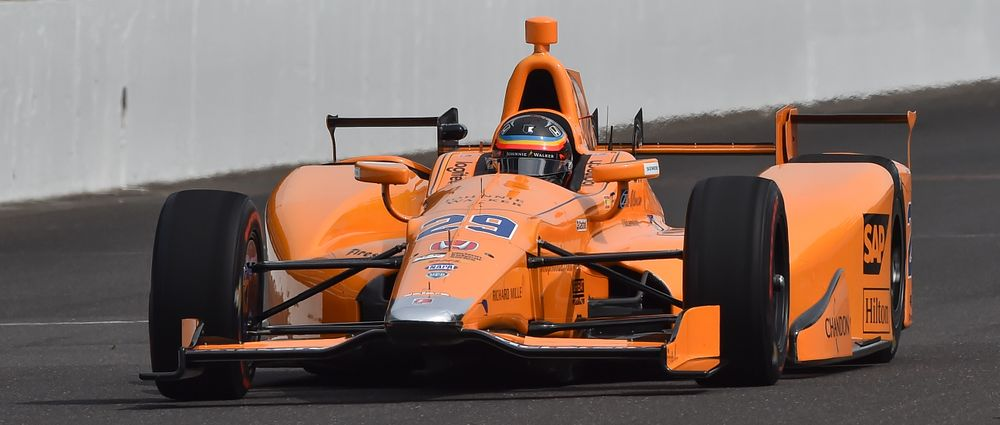 Fernando Alonso Finished Fourth On Day Four Of Indy 500 Practice