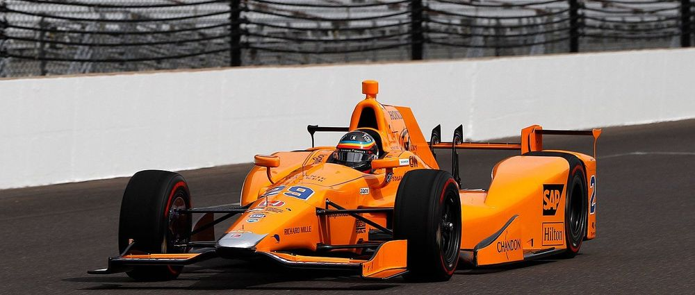 Alonso Passes Rookie Orientation Program For The Indy 500