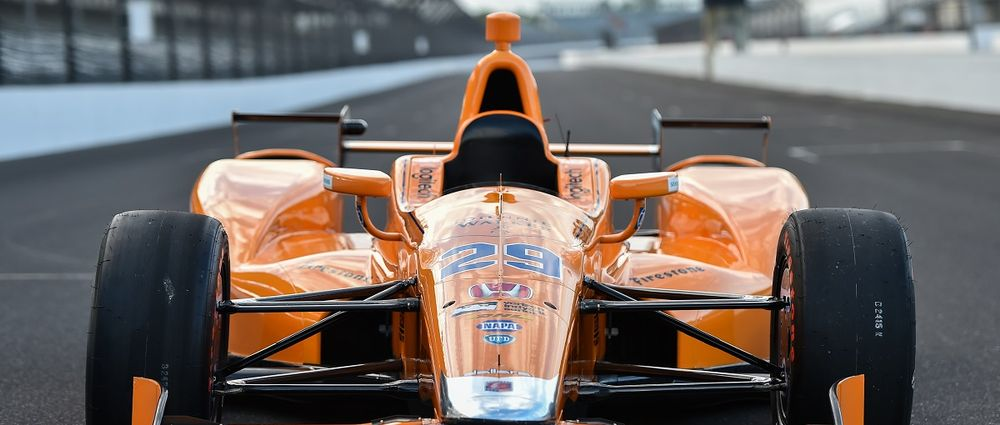Here Is Fernando Alonso's Indianapolis 500 Livery