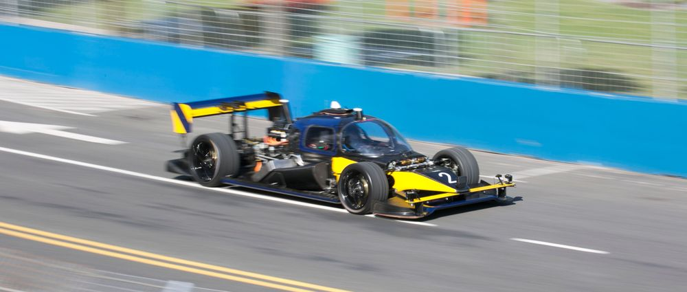 Watch Roborace's Devbot Drive Around A Formula E Track In High Speed Mode