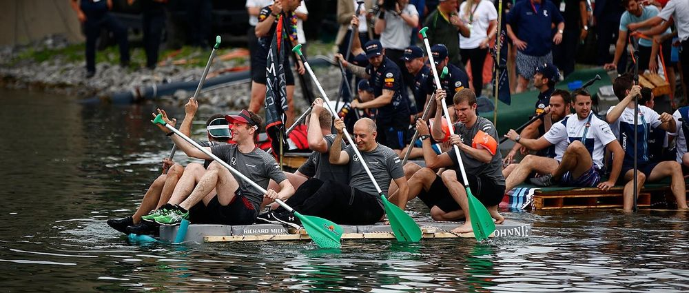 Montreal's F1 Raft Race Returned And McLaren Won It