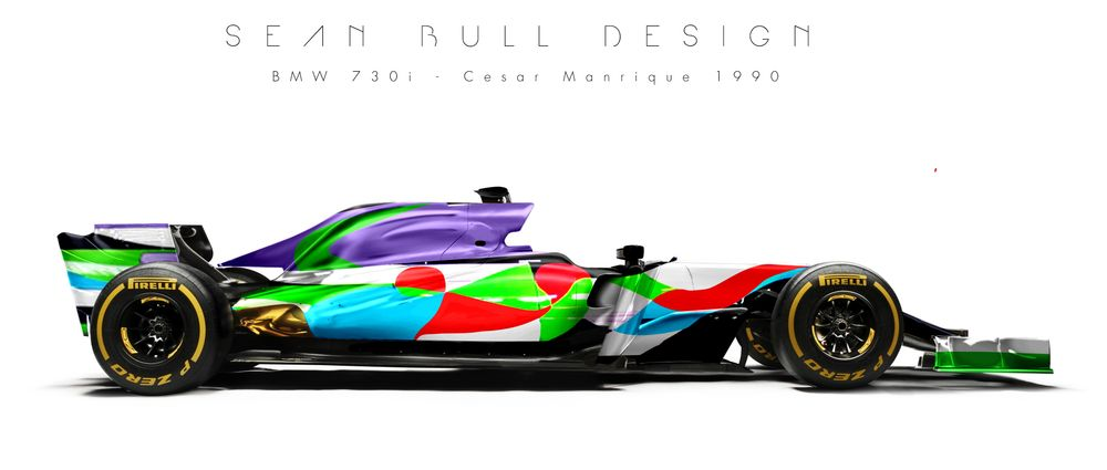 Here's What BMW Art Car Designs Would Look Like In F1