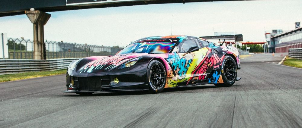 This Crazy Glow In The Dark Livery Will Run At Le Mans This Year