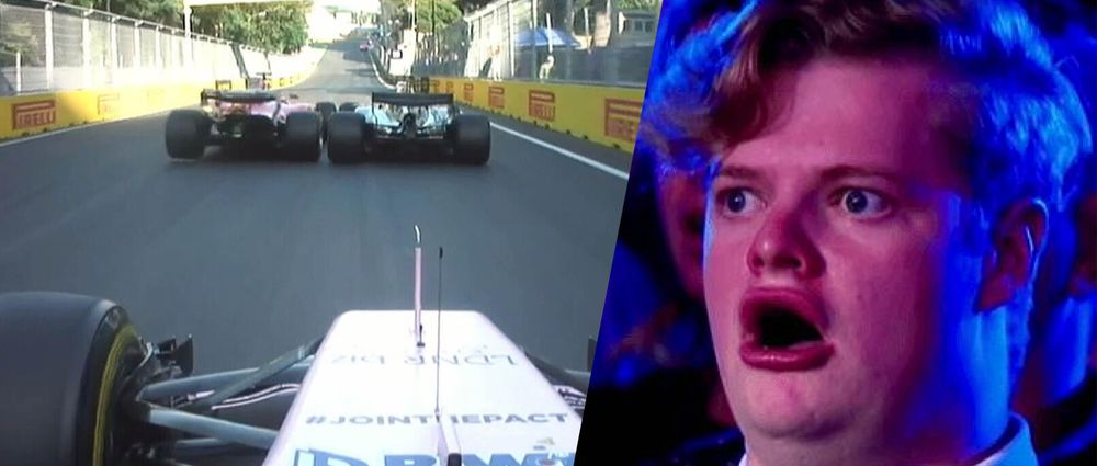 The 12 Best Moments From An Absolutely Crazy Azerbaijan GP