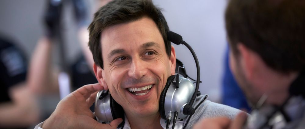 8 Hilarious Reactions From Mercedes Boss Toto Wolff