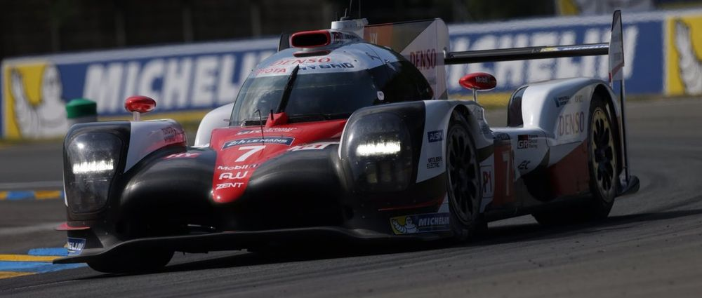 Toyota's Kamui Kobayashi Just Set The Fastest Lap Ever At Le Mans