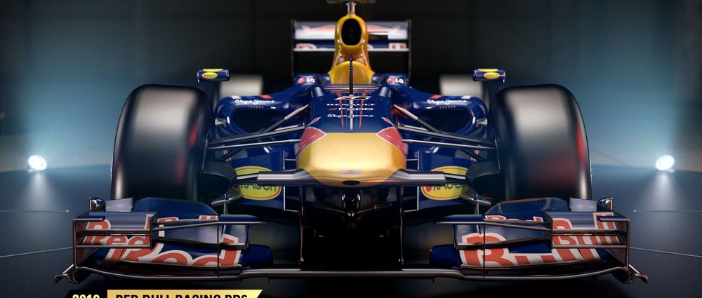 The Red Bull RB6 Is One Of The 'Classic' Cars In The F1 2017 Game