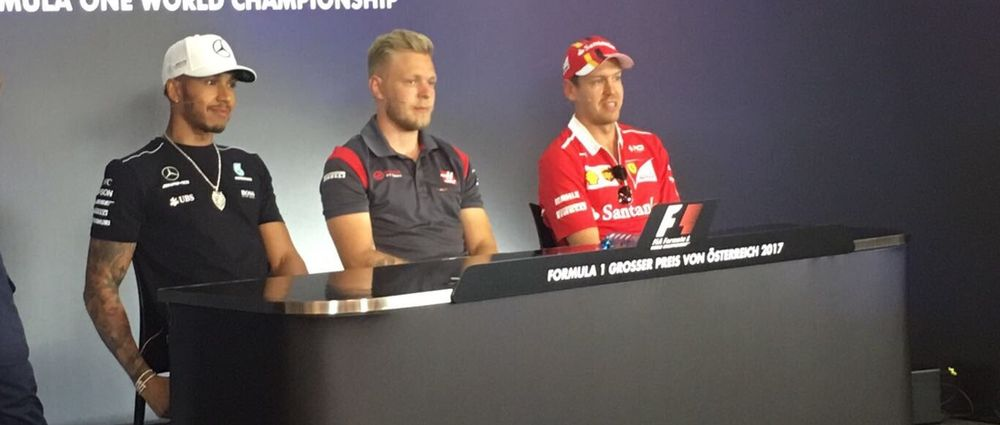Kevin Magnussen Looked Bored Out Of His Mind During The FIA Press Conference