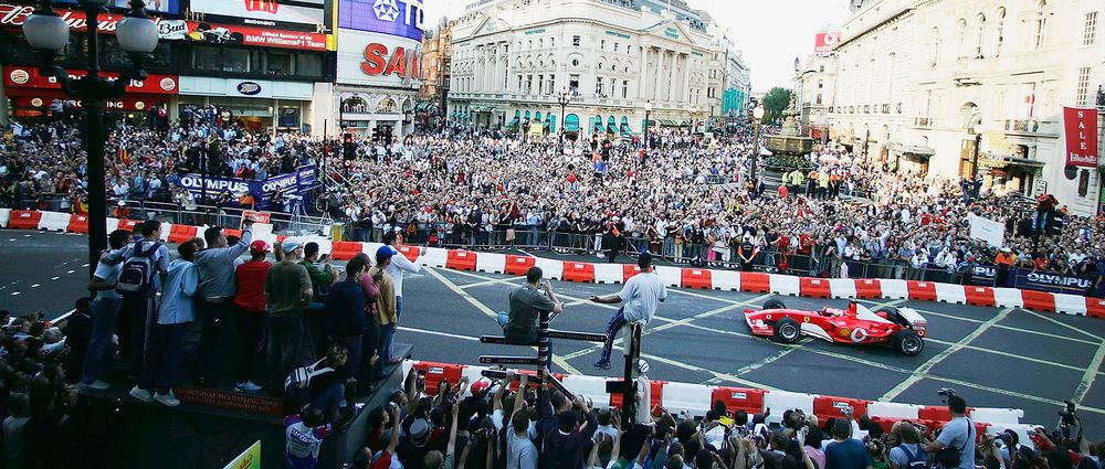 F1 Cars Will Be Driving Around London Ahead Of The British GP
