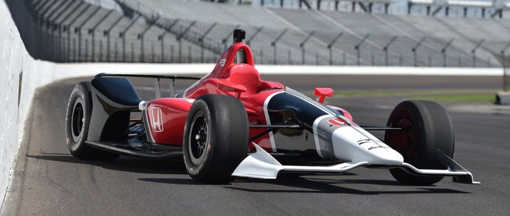 IndyCar Has Unveiled Its 2018 Car And It's Absolutely Stunning
