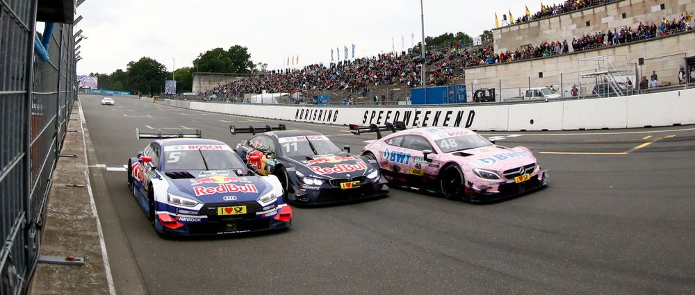 This DTM Finish For Third Place Couldn't Get Much Closer