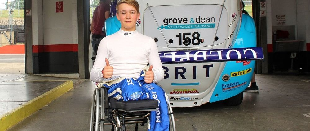 Billy Monger Has Driven A Race Car For The First Time Since His Accident