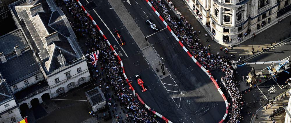 F1 Live London Drew In Crowds Of 100,000