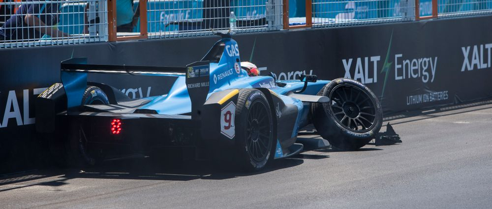 The Second New York Formula E Race Ended With A Crazy Shunt