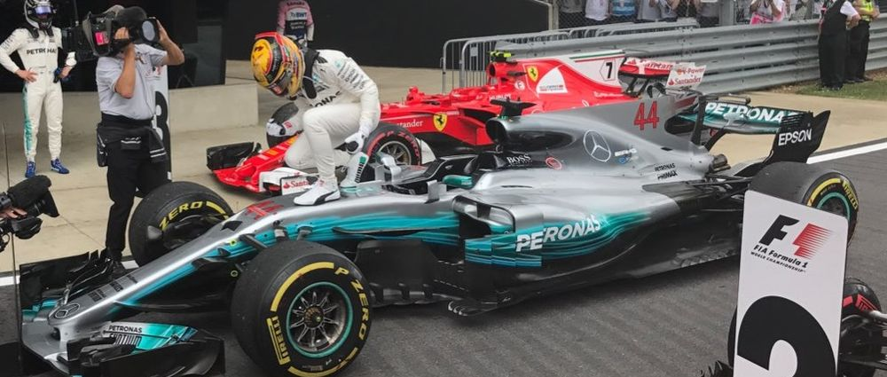 Title Down To One Point After Dramatic Finish To British GP