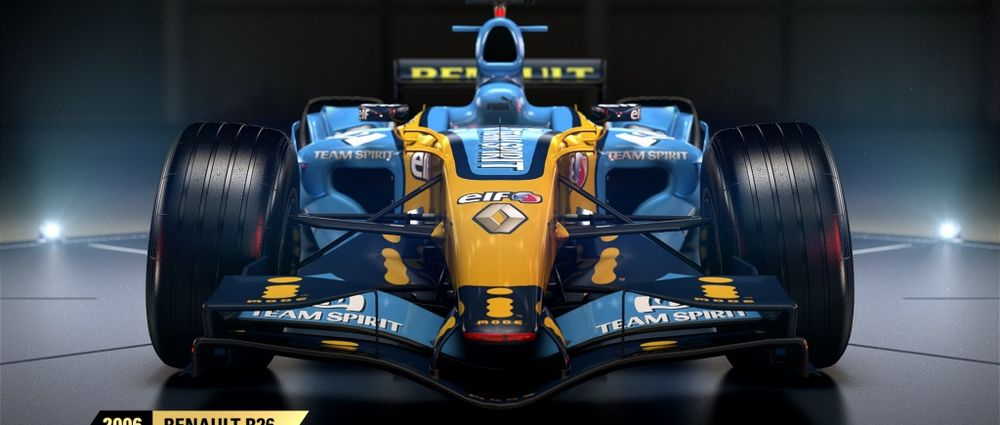 The Renault R26 Is The Latest Classic Car To Join The F1 2017 Game
