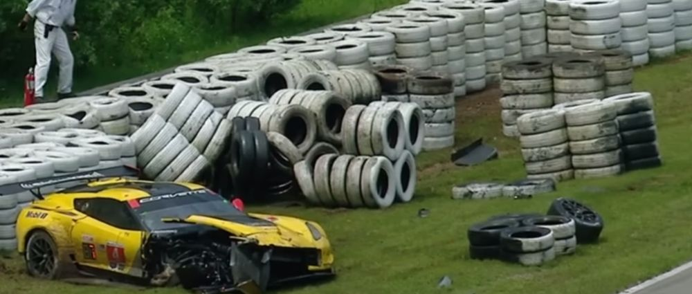 It Was A Bad Day To Be A Tyre Barrier During The Mosport Round Of The WSCC