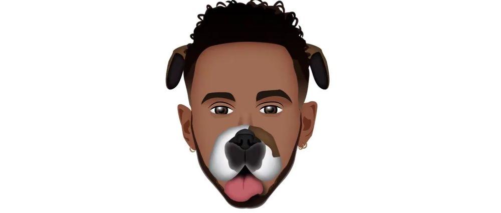 Lewis Hamilton Is Launching His Own Set Of Emojis