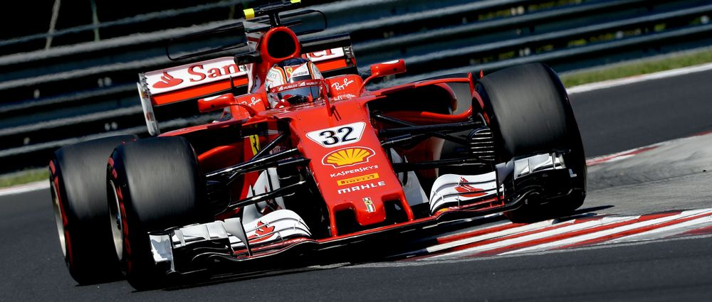 F2 Star Leclerc Leads First Day Of Hungary Test For Ferrari