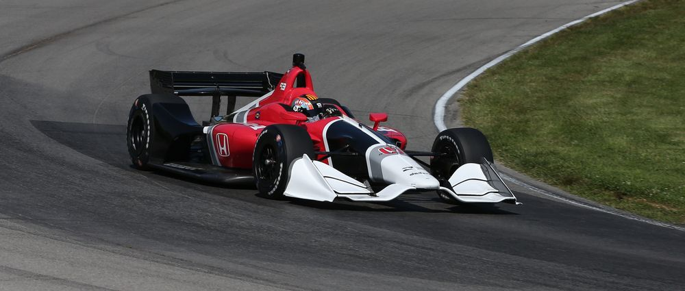 The Road Course Version Of IndyCar's 2018 Aerokit Has Hit The Track