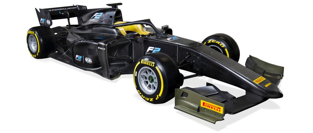 F2's New 2018 Car Has Been Unveiled, And It Features The Halo