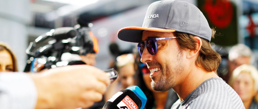Alonso Reckons McLaren Would Have Locked Out The Front Row If It Had A Better Engine