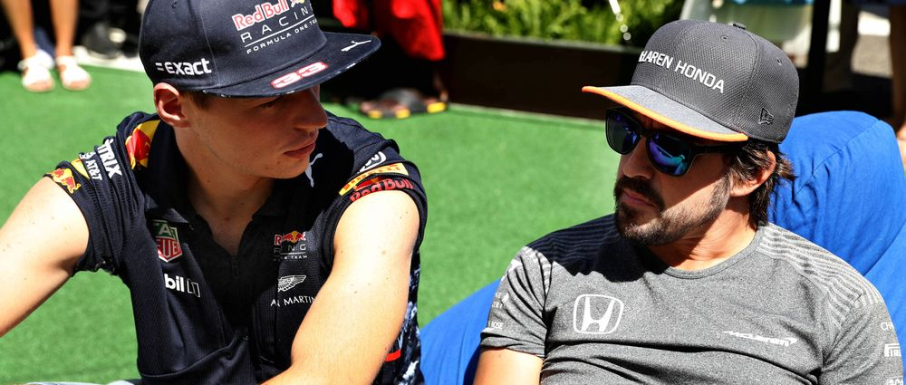"Verstappen Says He's ""Competing Against Fernando"" For Most DNFs"