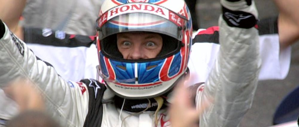 Remembering Jenson Button's Crazy First F1 Win At The 2006 Hungarian GP