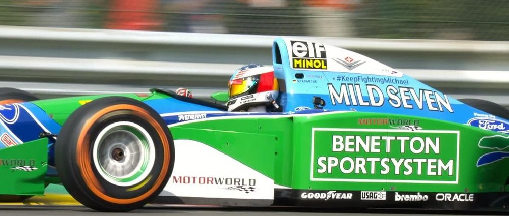 Mick Schumacher Driving His Dad's 1994 Benetton Looked Incredible