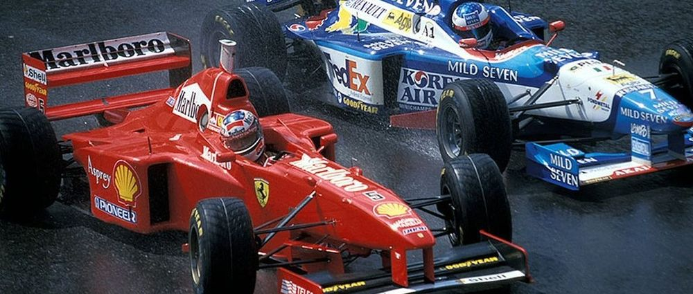 It's Been 20 Years Since Schumacher Led By A Whole Minute After Just Nine Racing Laps