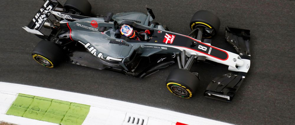 Grosjean Is Angry That Monza Qualifying Started Because He Thinks It Was Too Dangerous