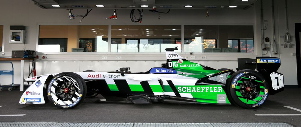 So This Is Audi's First Formula E Car, Kind Of
