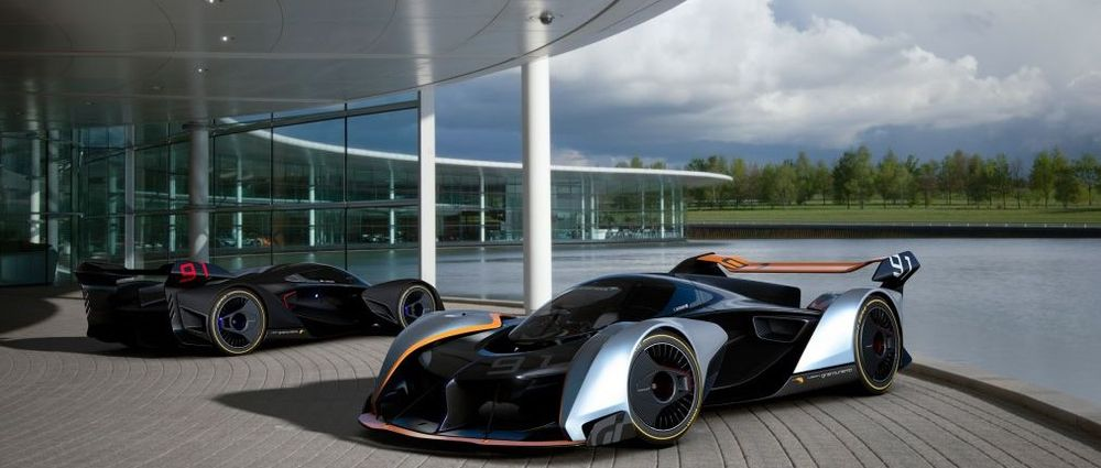 McLaren Has Designed A Car For Gran Turismo And It's Utterly Bonkers