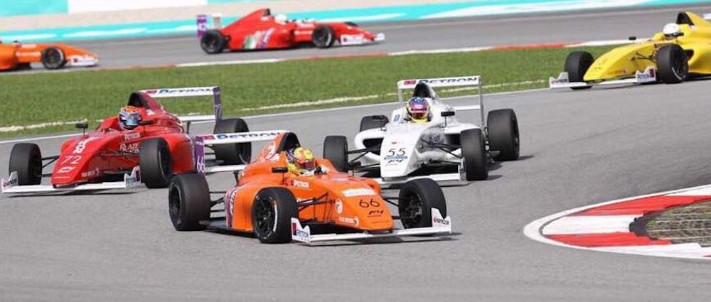 A Formula 4 Race In Sepang Had No Finishers