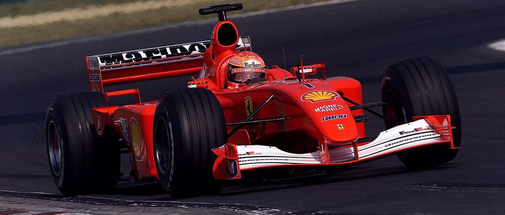 Schumacher's Title-Winning Ferrari F2001 Is Going Up For Auction