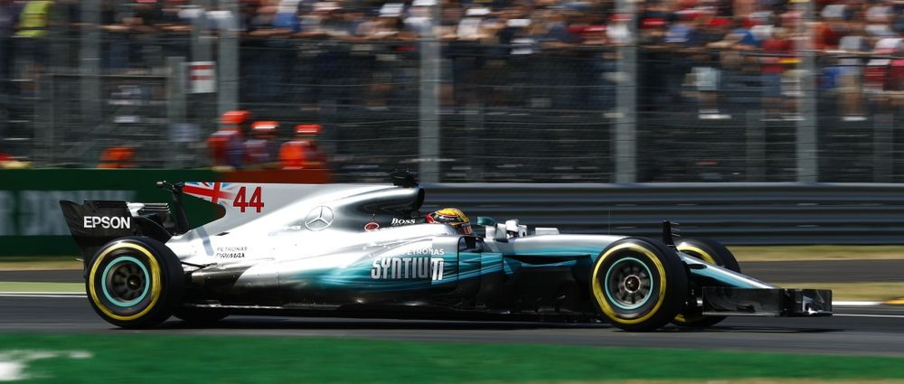 Mercedes Dominates At Monza, But Vettel Keeps The Fans Happy