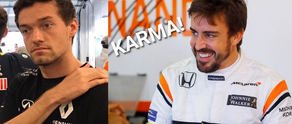 Fernando Alonso Really Doesn't Like Jolyon Palmer