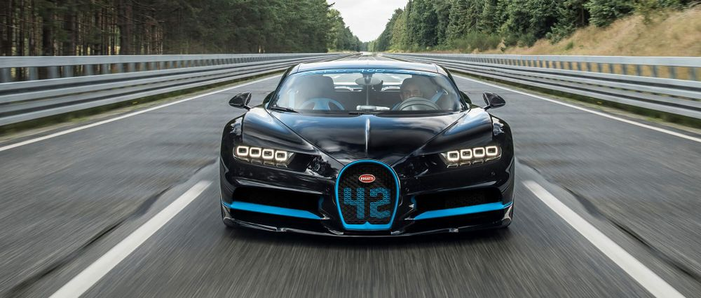 Juan Pablo Montoya Drove A Bugatti To A Production Car Record
