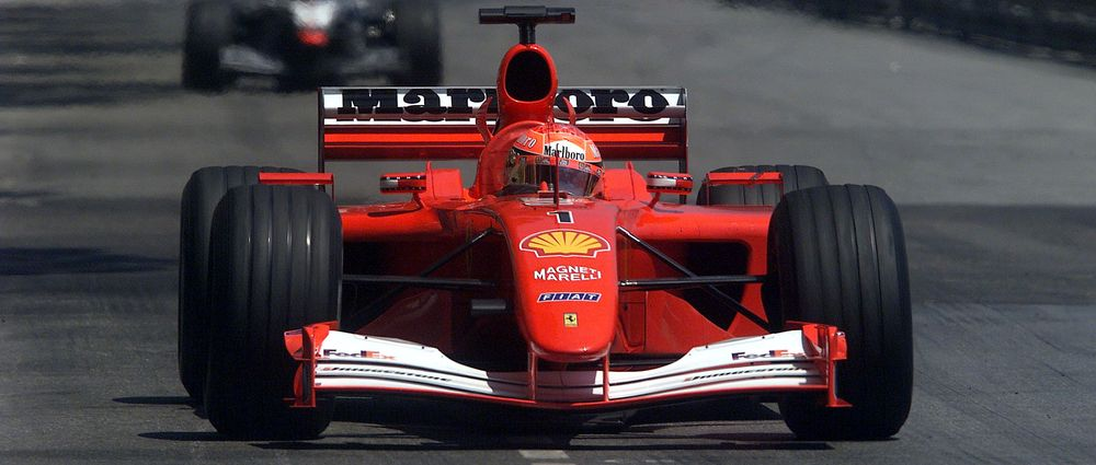 Schumacher's Ferrari F2001 Just Sold For A Record $7.5Million At Auction