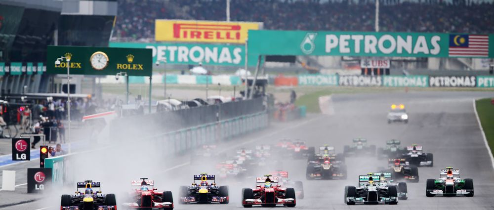 6 Of The Best Wet Weather Malaysian GP Moments