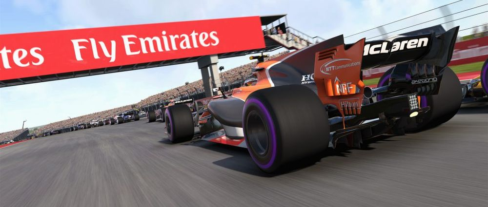 mclaren s honda engine is also broken in the f1 2017 game. Black Bedroom Furniture Sets. Home Design Ideas