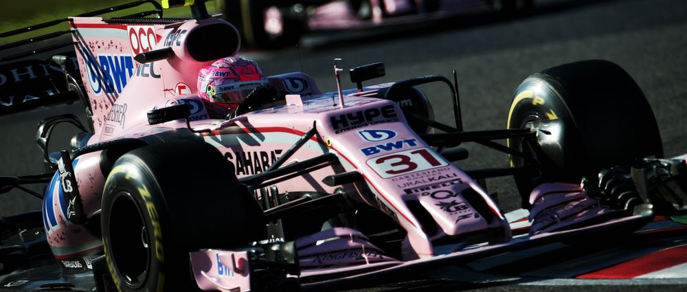 Esteban Ocon Can't Stop Finishing Races