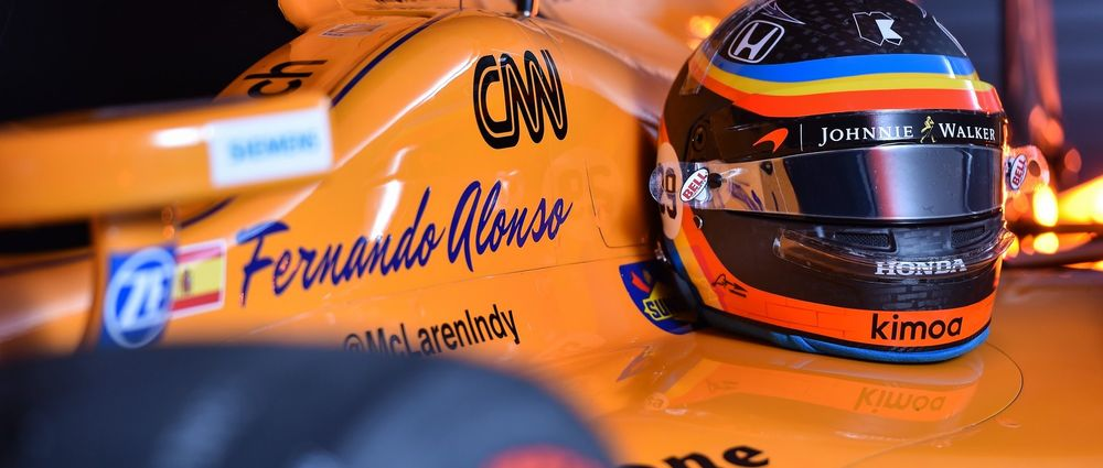 Alonso Will Use His Indy 500 Helmet Design For Austin