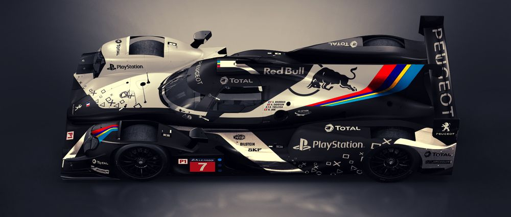 This Peugeot LMP1 Concept Is All Kinds of Sexy