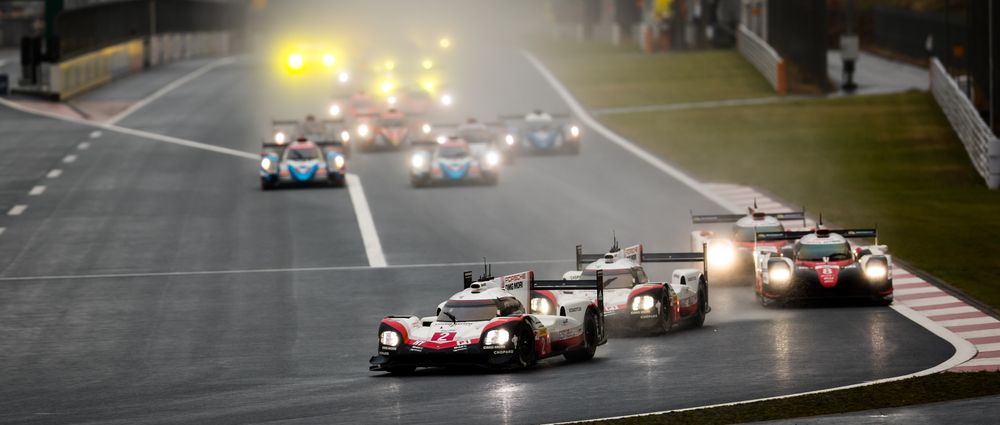 The WEC Race In Fuji Had To Be Stopped Early Because It Was Too Wet And Too Foggy