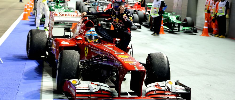 12 Classic F1 Taxi Rides