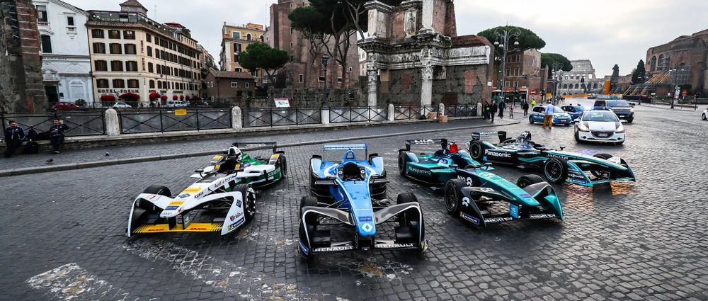 This Is Formula E's New Rome Street Circuit
