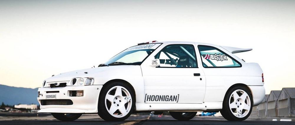 This Ex-WRC Ford Escort RS Cosworth Is Ken Block's Latest Project