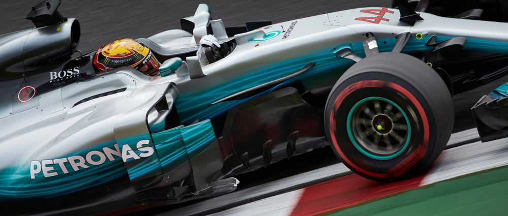 Hamilton Says Donington Park Has More Challenging Corners Than Any Current F1 Track