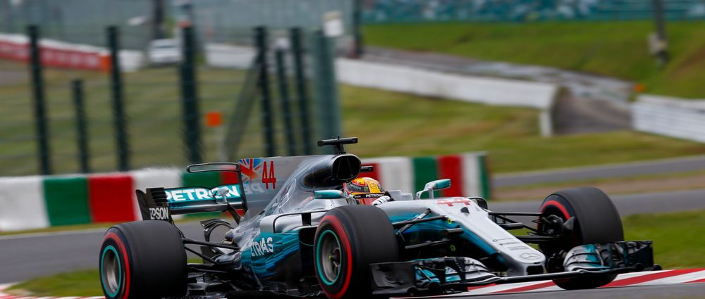 Lewis Hamilton Just Holds On To Win The Japanese Grand Prix